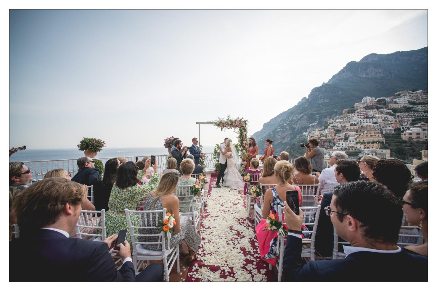 Symbolic Weddings In Positano Weddings Ceremony Positano